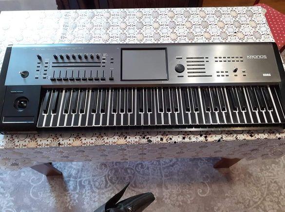 Черни лепенки за клавиатура на корг па 4х,3,2,600,800,700