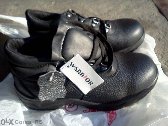 """Saefty предпазни обувки """"Warrior"""" Естествена кожа"""