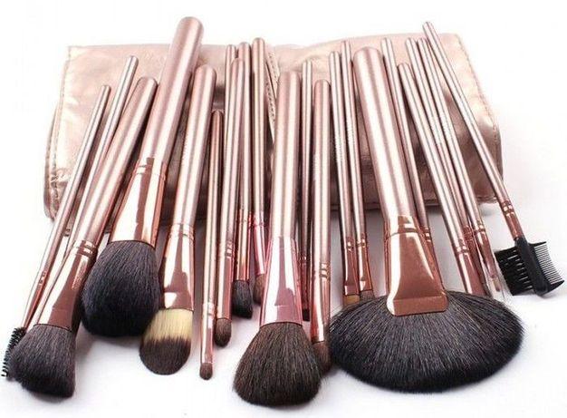 Set 18 pensule machiaj par natural calitate superioara Megaga-Make up