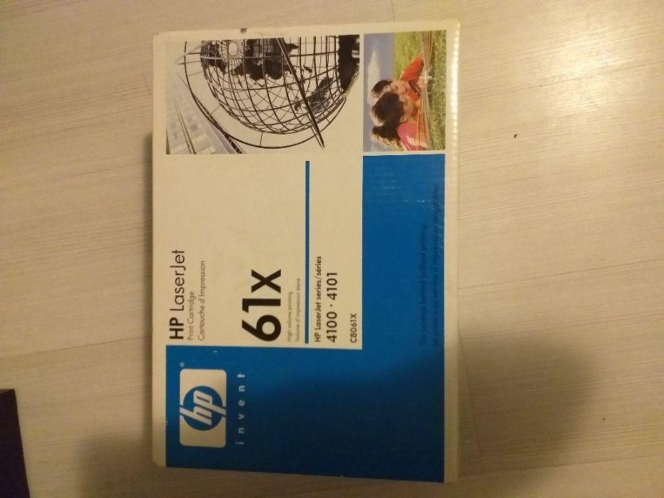 Cartus Toner 61x 4100 4101 c8061x sigilat HP Bucuresti - imagine 1
