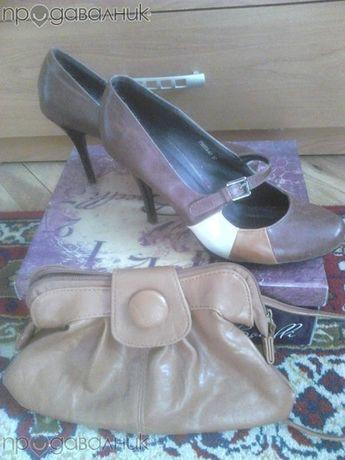 Paolo Botticelli комплект обувки и чанта