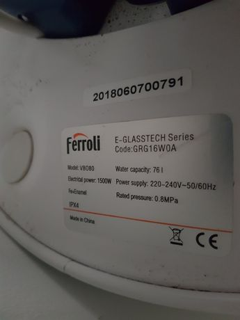 Boiler electric Ferolli