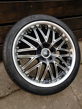 3 jante cu anvelope Michelin pe 19' Audi, Volkswagen, Skoda, Mercedes