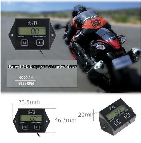 Моточасовник оборотомер тахометър Мото часовник брояч на часове