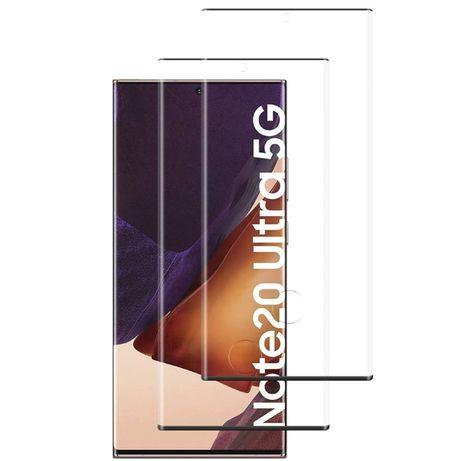 Folie sticla curbata FULL GLUE pt Samsung Galaxy Note20, Note 20 Ultra