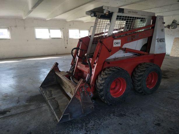 Case 1845 C bobcat de 3,5 tone cu cupa multifunctionala