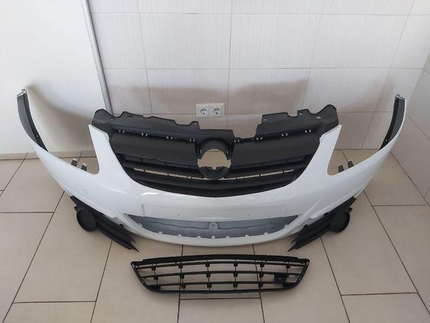 Pachet Bara Fata+Toate Grilele Opel Corsa D 2006-2011 (Z474 (Alb))