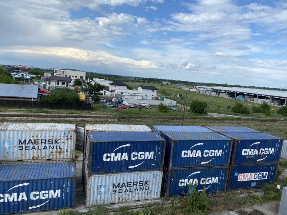 CONTAINERE Containere maritime si containere birou ,DEPOZITARE in cont Catelu - imagine 1