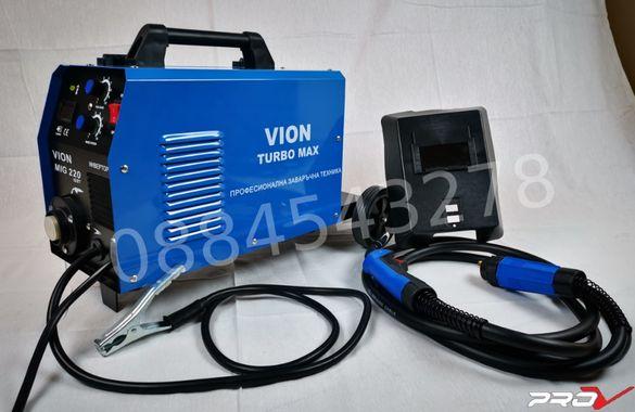 Телоподаващ заваръчен апарат 220Ампера MIG инверторно телоподаващо