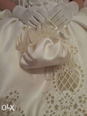 Vand rochie de mireasa Agnes Toma marimea XS