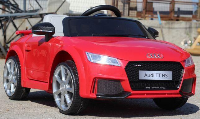 Masinuta electrica pentru copii Audi TT RS 2x 25W 12V NOUA #Rosu