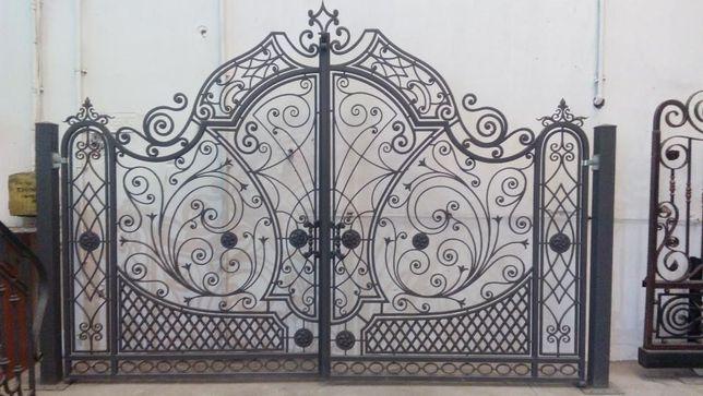 porti din fier forjat ( poarta ) balustrade din fier forjat,inox