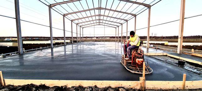 Turnari beton finisat mecanic cu cuart, elicopterizat, slefuit