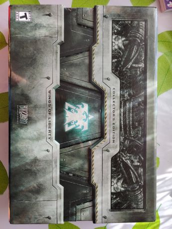 StarCraft 2 Wings of Liberty Colector Edition - sigilat
