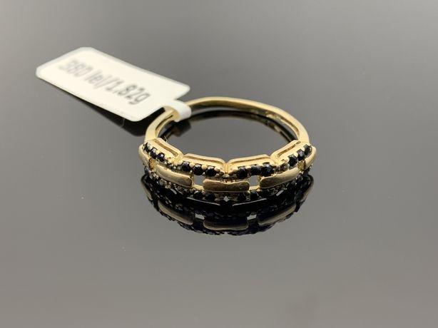 Bijuteria Royal CB: Inel damă aur 14K 585% 1,82 grame marimea 15
