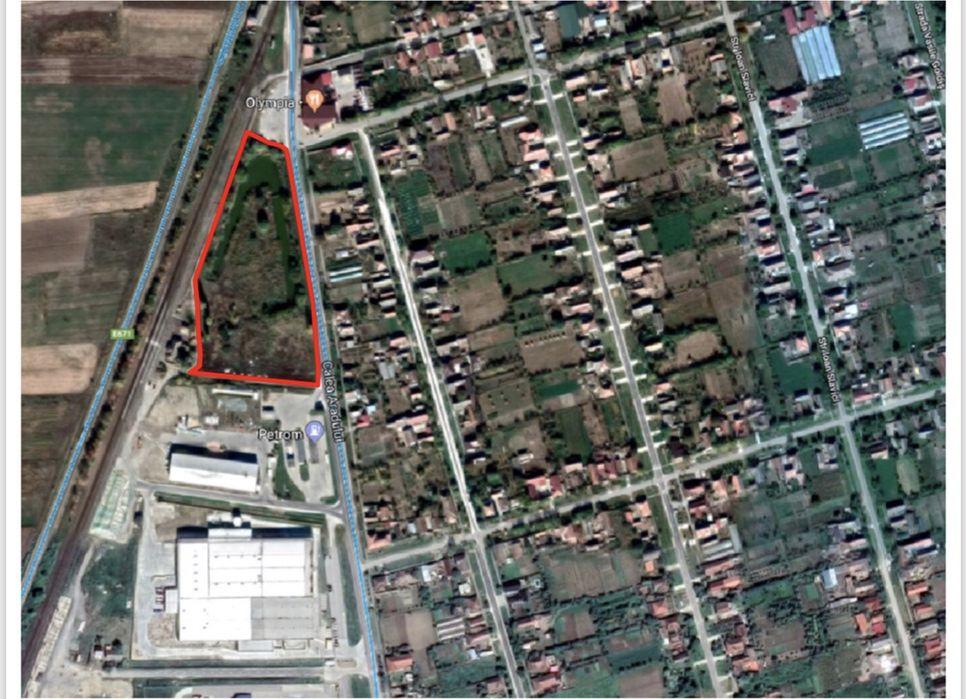 Vând teren intravilan(21080.00mp) în Nădab(Chișineu Criș) Chisineu-Cris - imagine 1