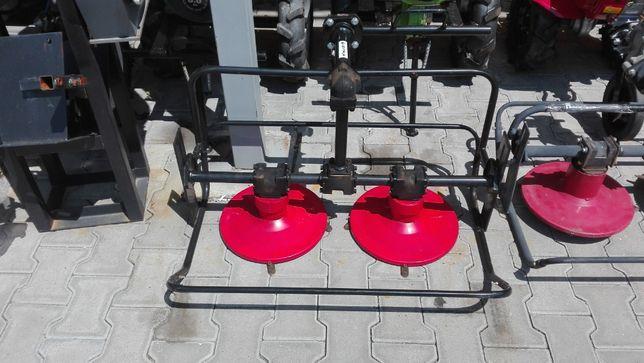 Cositoare rotativa cu 2 talere pe cuplă de putere transport gratuit