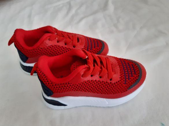 Нови червени маратонки N22