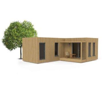 Сглобяема къща 30 кв.м, павилион, бунгало, сглобяема къща
