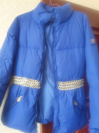 Куртка пуховик, производство-Италия