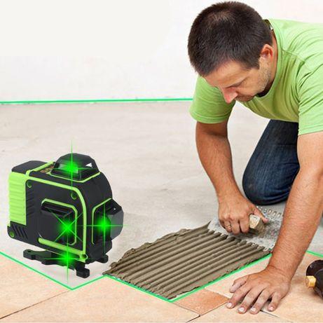 4D ЛАЗЕРЕН НИВЕЛИР с 16 линии самонивилиращ се, със зелен лазер,