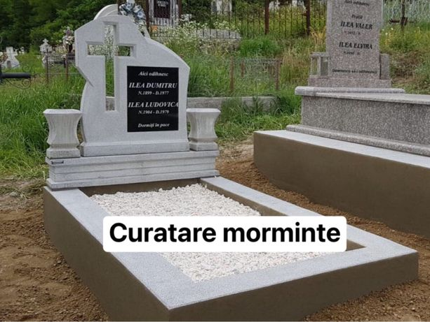 Curatare morminte