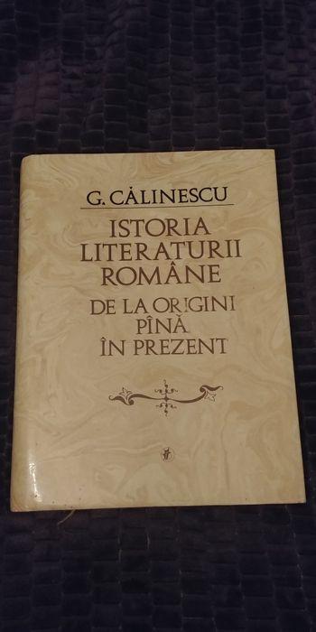 G. Calinescu: Istoria literaturii romane Bucuresti - imagine 1