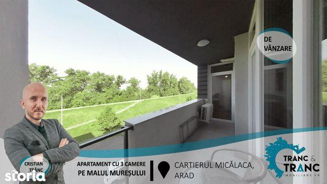 Apartament Nou cu 3 camere cu o panorama superba catre Malul Muresului