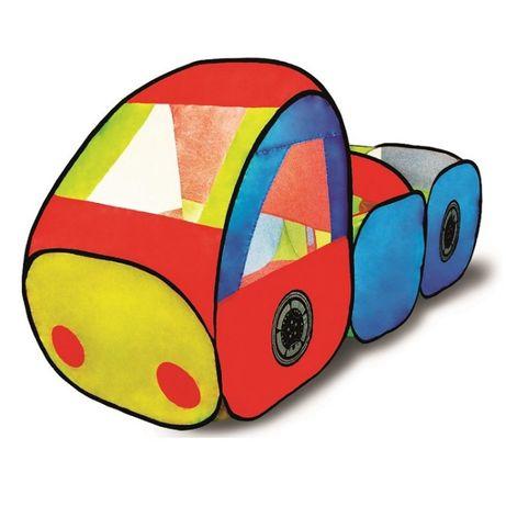 Большая палатка игровая 1TOY Машинка игровой домик для игр для игрушек