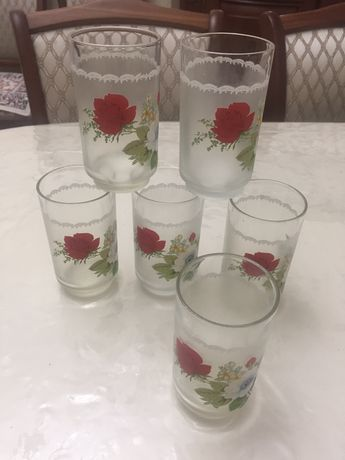 стаканы для воды