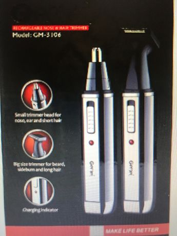Trimmer nas si urechi 2 in 1