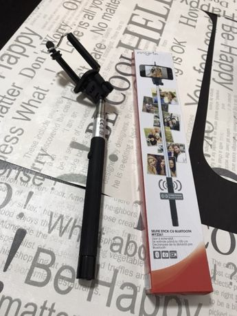 Vand selfie stick cu bluetooth compatibil Apple și Samsung