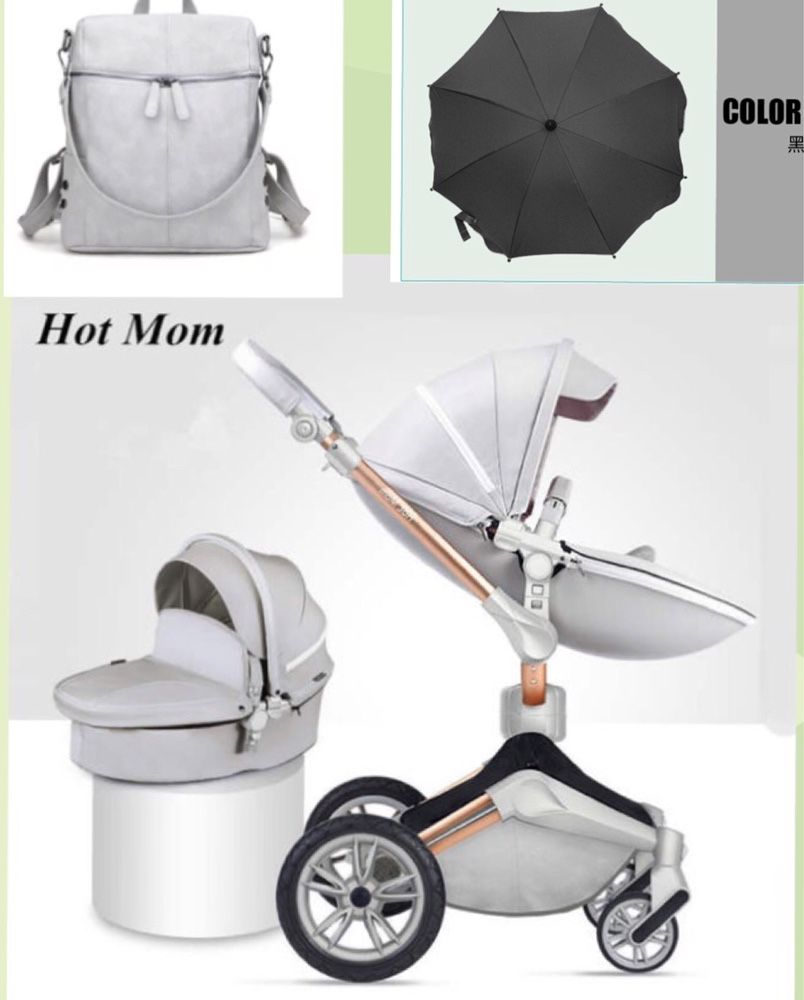 Промоция! Бебешка количка Hot mom 2 в 1 Аналог Mima Xari, нова