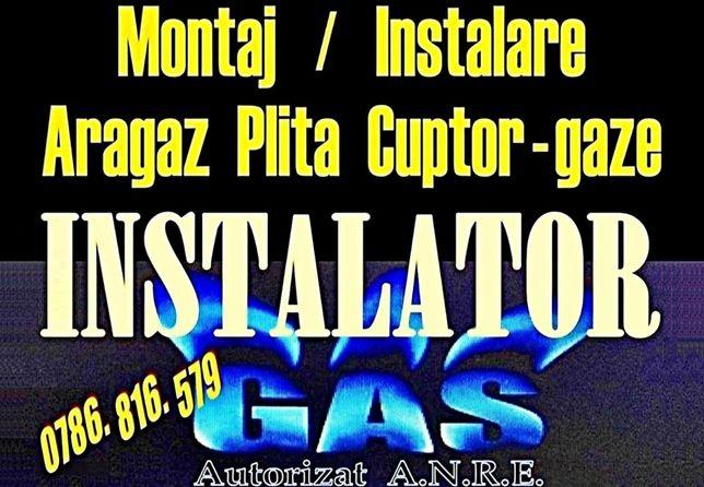 Montaj: ARAGAZ / PLITA gaze - BUCURESTI - Instalator Autorizat montare