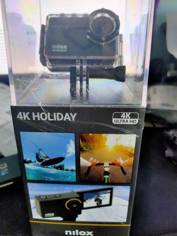Vand camera de actiune Nilox 4K Holiday, noua, SIGILATA