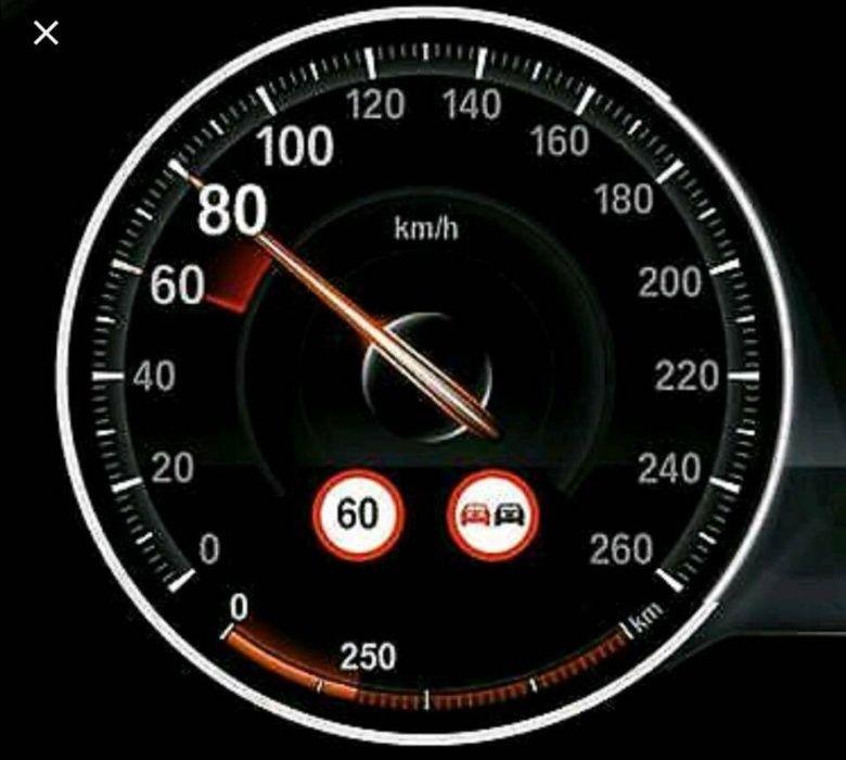 BMW F01 F10 F15 F30 X5 X6 Отключване Speed Limit разпознаване на знаци