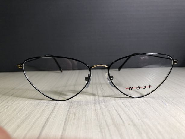 WEST mod. 99887 c. 4 negru + auriu Made in Italy rame de vedere