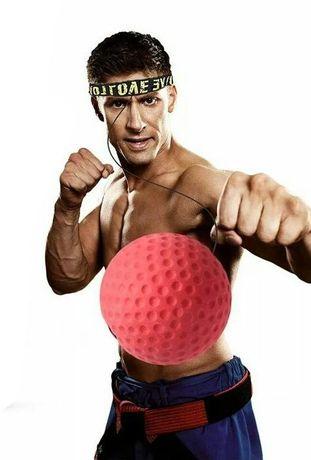 Фитнес бокс топче, топка за рефлекси, антистрес топка