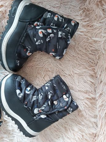 Ботинки осень зима для мальчика