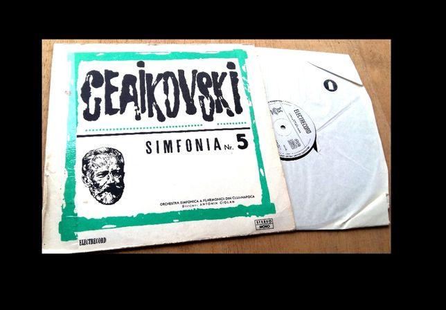 Disc vinil Pick-up Ceaikovski , ELECTRECORD