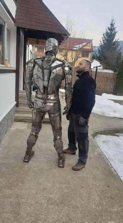 Iron man metal Art