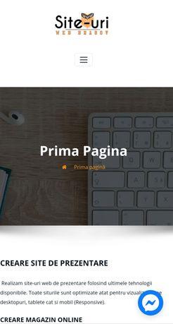Realizare Site web Brașov