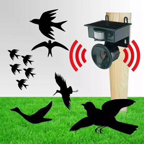 Ултразвуков соларен уред против птици Птицегон