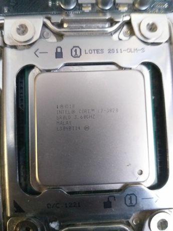 Материнская плата и процессор (P9X79 LE + i7-3820)
