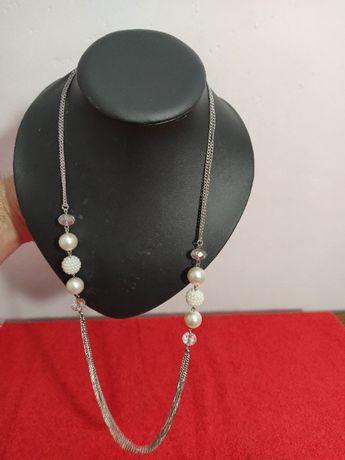 Colier Perle de cultura / margele Vintage Uk #6