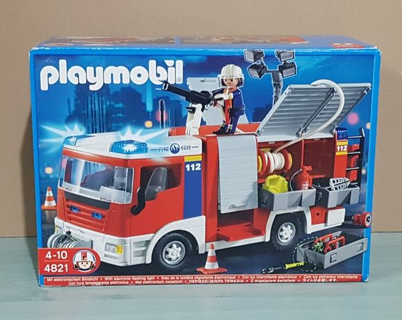 Playmobil 4821-Autospeciala Pompieri