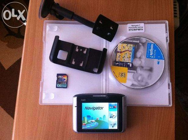 GPS Airis T920a + Harta Peninsula Iberica + Suport parbriz