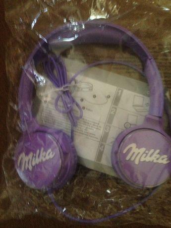 Нови слушалки на Milka
