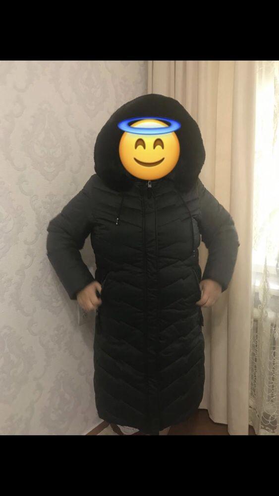 Женская куртка большого 58 -60размера пуховик большого размера 58