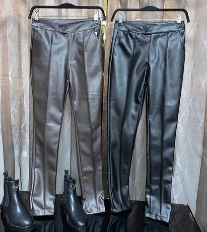 новые брюки эко кожа